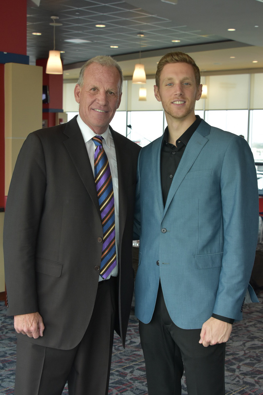 with Doug Collins, NBA Hall of Fame Coach and Player
