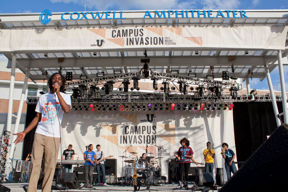 MTV's Campus Invasion Tour 2011