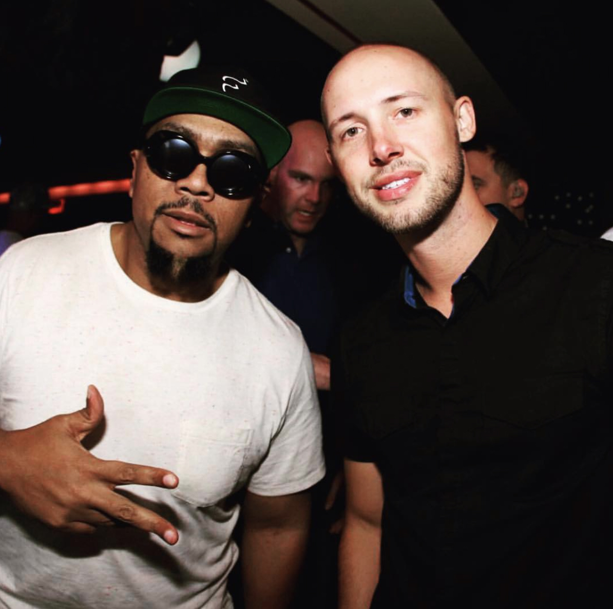 with Timbaland