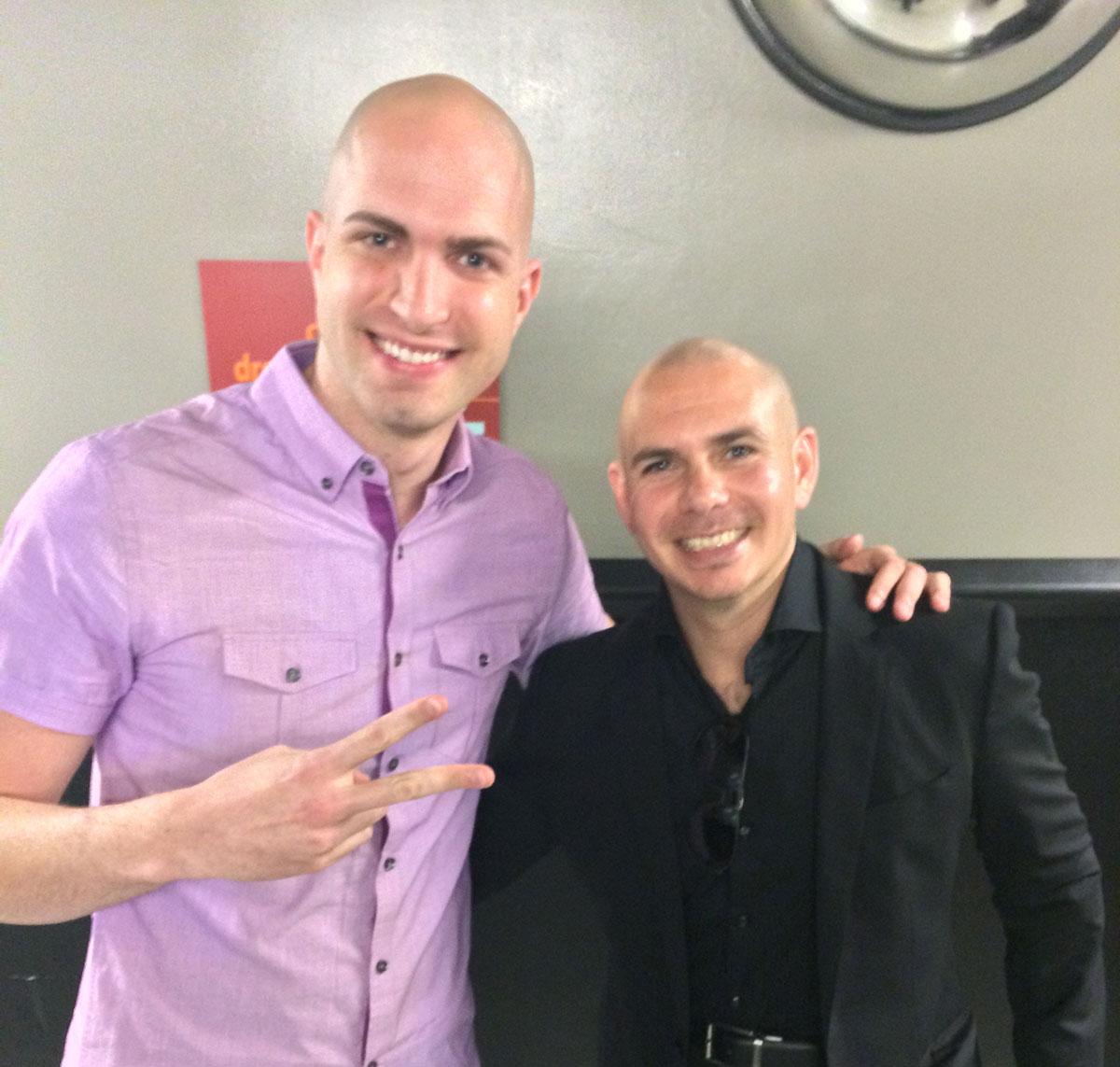 with Pitbull