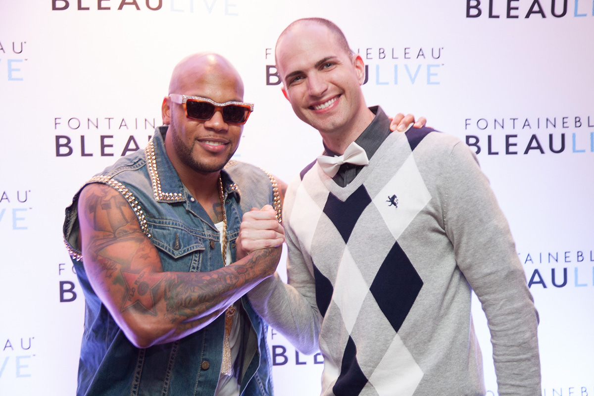 Bleaulive with Flo Rida