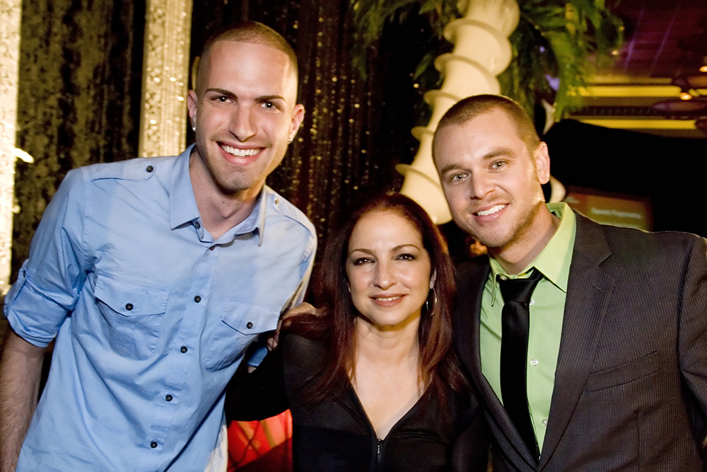 with Gloria Estefan