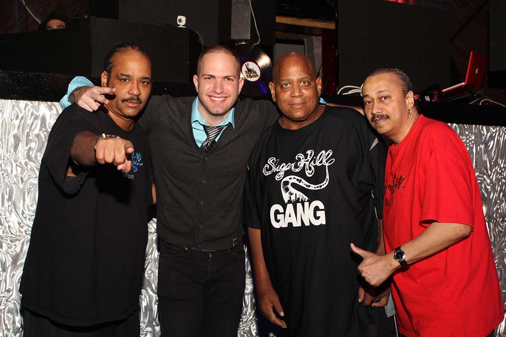with Sugarhill Gang