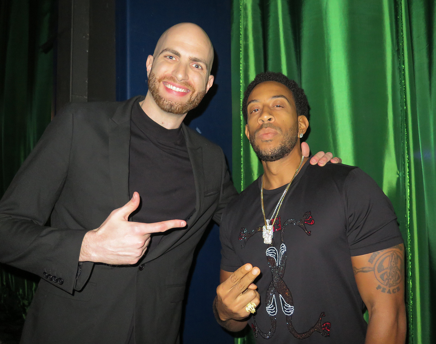 with Ludacris