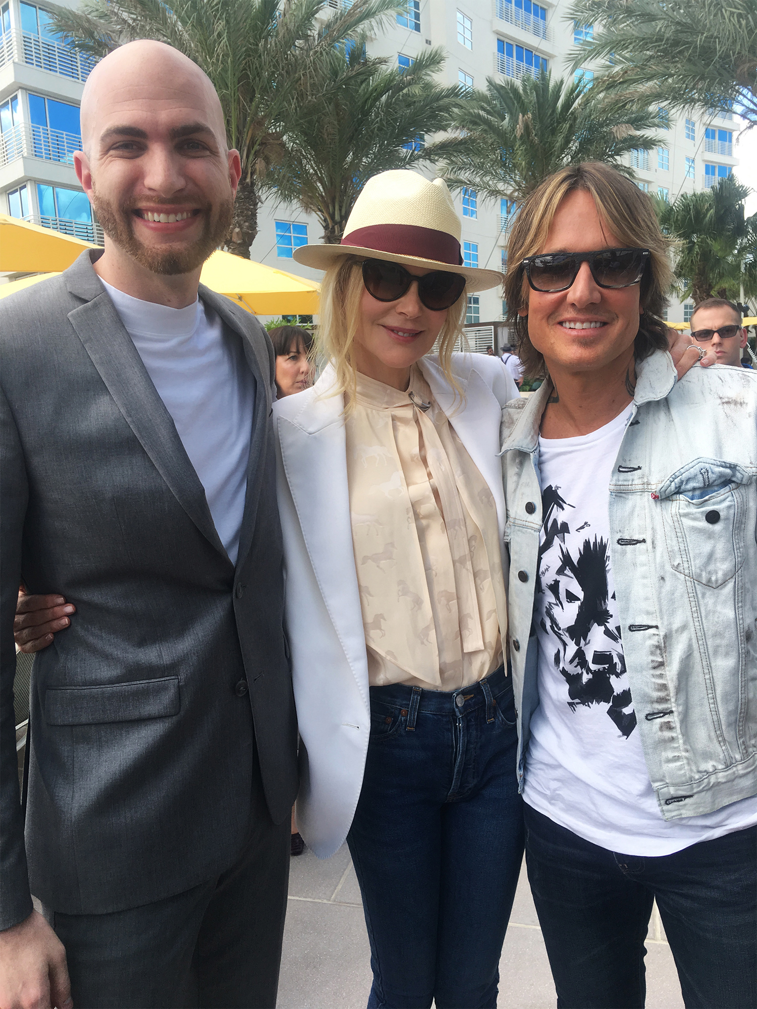 with Nicole Kidman & Keith Urban
